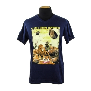 Royal Queen Seeds T-shirt Lion