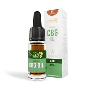 5% CBG i 2,5% CBD Olej