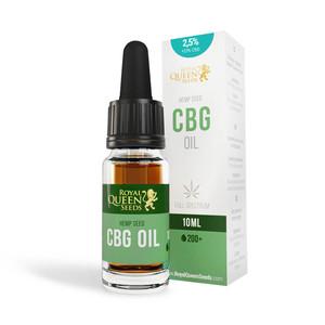 2,5% CBG i 2,5% CBD Olej