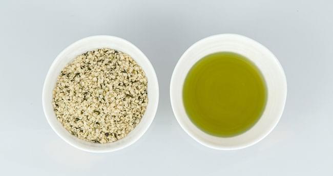 nierafinowanego oleju z nasion konopi