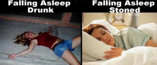 Stoned vs Drunk
